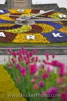 Niagara Parks Floral Clock Queenston Ontario