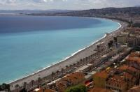 The largest tourist resort in France is the city of Nice on the Cote d'Azur of the Provence.