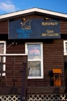 The Norseman Restaurant and Gaia Art Gallery is one of the finest places for dining located at L'Anse aux Meadows in Newfoundland Labrador in Canada.