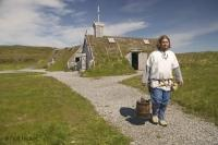 Stock photo of Norstead Viking Site in Western Newfoundland