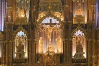 An interesting church in Montreal to visit is the basilica of notre dame.