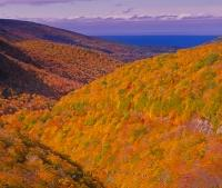 Fall Pictures on Cabottrail in Nova Scotia in the Cape Breton Highland National Park