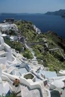 Stairs Labyrinth Oia