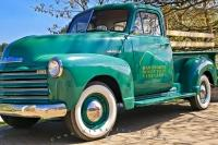 It takes a lot of care and attention to restore old trucks to their former glory.