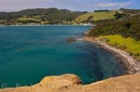 The small town of Omapere rests along the beautiful shores of Hokianga Harbour on the North Island of New Zealand.