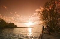 Lake Simcoe is a great spot for family fishing vacations and leisure activities in Ontario, Canada.