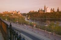 The Rideau Canal is one of the many attractions for visitors on vacation in the beautiful city of Ottawa, Ontario.
