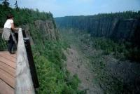 Stock Photo of Ouimet Canyon in Ontario