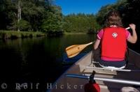 Outdoor Adventure Canoeing Mersey River