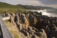 Photo of the Pancake Rocks located in the Paparoa National Park on the South Island of New Zealand