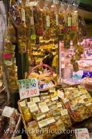 Pasta Herb Market Stall Mercato Centrale Italy