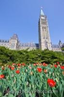 Centre Block Peace Tower Parliament Hill Ottawa Ontario Canada