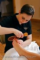 Pedicure Treatment Black Bear Resort Day Spa Port McNeill