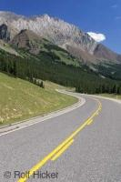 The Highwood Pass is Canadas highest drivable Mountain Pass situated in Peter Lougheed Provincial Park in Alberta, Canada.