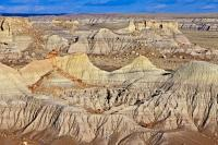 Petrified Forest Landscape Arizona