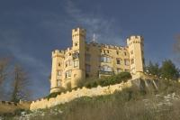 The Hohenschwangau Castle is often overlooked and is located beside the famous Castle Neuschwanstein