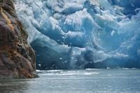 Sawyer Glacier a popular highlight on an Alaskan Cruise adventure.