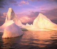 Iceberg at Sunset Pictures Of Icebergs
