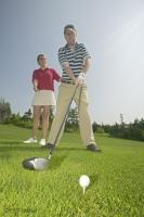Stock Photo of Golf Club Components