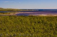 Pinware River Mouth Scenery Southern Labrador