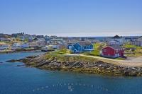 When you take the Marine Atlantic Ferry aboard the MV Caribou you arrive at the pretty community of Port Aux Basques in Newfoundland, Canada.