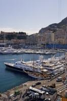 A magnet for luxury yachts, Port Hercule in the city of Monte Carlo, Monaco has a full service marina.