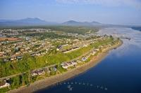 A town that had its beginnings as a logging camp in the 1930's, Port McNeill is now the hub of Northern Vancouver Island in British Columbia, Canada.