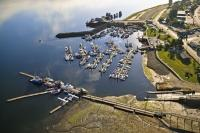 Port McNeill Harbor Aerial Photo