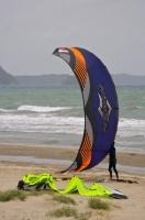 Power Kite Orewa Beach New Zealand