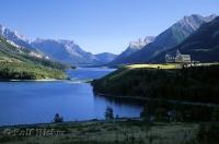 Prince Of Wales Hotel Waterton Lakes Landscape