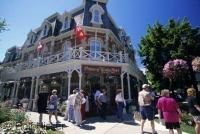 The Prince of Wales Hotel situated in the pretty town of Niagara on the Lake in Ontario, Canada.