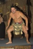 Professional Entertainer at the Tamaki Maori Village based near Rotorua in New Zealand
