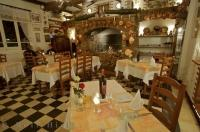 The Auberge des Gorges du Loup Restaurant is an elegant location to have a fine meal in the Provence, France in Europe.
