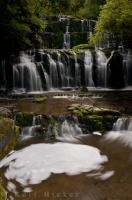 Purakaunui Falls Picture Otago New Zealand