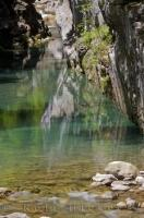 Pyrenees River Rio Bellos Canon Anisclo Spain