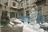 Ice Carving Art Quebec