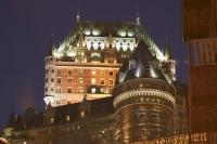 The Le Chateau Frontenac is a restored historic hotel located in the heart of Old Quebec, Canada.