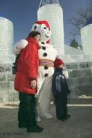 Quebec Winter Carnival, Snowman Pictures