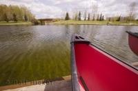 The Bower Ponds in Red Deer Alberta, Canada are a pleasant way to spend a relaxing weekend vacation getaway.