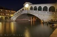 Until the mid 19th century, the Rialto Bridge in Venice, was the only means of crossing the Grand Canal by foot.