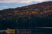 The simple life is found at Rock Lake in Algonquin Provincial Park in Ontario, Canada where canoeing, Autumn colors and peacefulness encompass you.