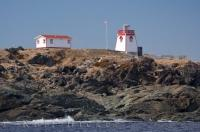 Rocky Coastline St Anthony Lighthouse Newfoundland