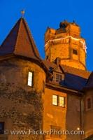 Ronneburg Castle is also a museum in the Hessen state of Germany. It is thought to have been built some time around the early to mid 13th century. Now it is a living museum that visitors can explore and get a taste of what castle life may have been like.