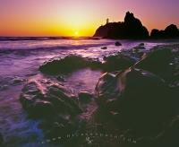 Ruby Beach Sunset Olympic Peninsula