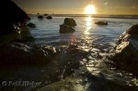 Ruby Beach Sunset Photo