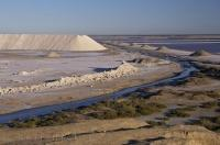 Salt Lagoons Industries Camargue France