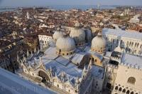 San Marco Domes Venice Italy