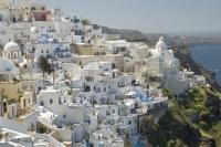 santorini travel Fira Buildings