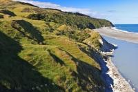 New Zealand Scenic Hill Coastline