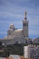 The most outstanding Second Empire landmark in the city of Marseille in Provence, France in Europe is the Notre Dame de la Garde Church atop the La Garde hill.